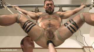 Ripped gym rat Aarin Asker.. Boundgods.com – dirtyporn.cc